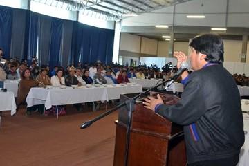 Cochabamba pide reelección del Presidente Evo en 2020