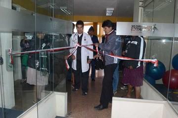 Sucre recibe centro de medicina deportiva