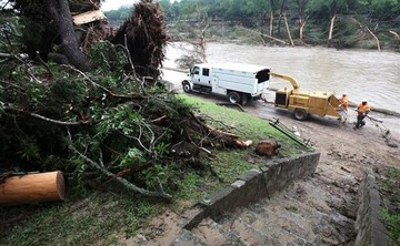 Tormentas en el sur de EEUU dejan diez muertos y decenas de desaparecidos