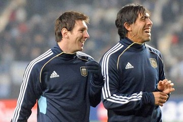 Messi y Tevez lideran  la lista de Argentina  para la Copa América