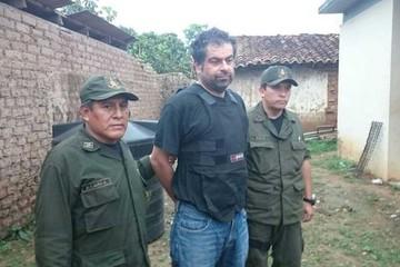 Belaunde será entregado a Perú hoy tras ser capturado en Beni
