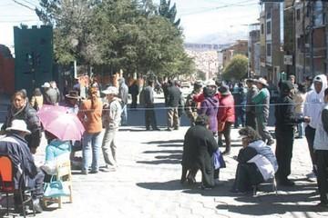 Se rompe el diálogo y el paro es parcial en Potosí