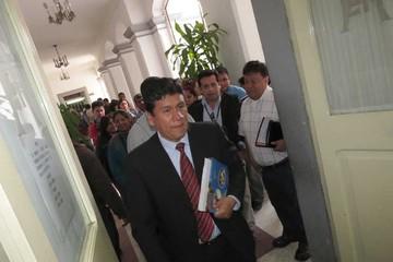 Iván continúa sin  gabinete por las pugnas en el MAS