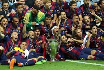 El Barça logra su quinta Champions y segundo trébol de grandes títulos