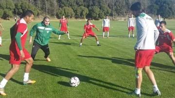 Selección trabaja en Chile