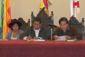 CST: Maldonado pactó vicepresidencia, pegas y un cargo jerárquico