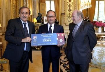 Francia inicia la cuenta atrás para la Eurocopa 2016