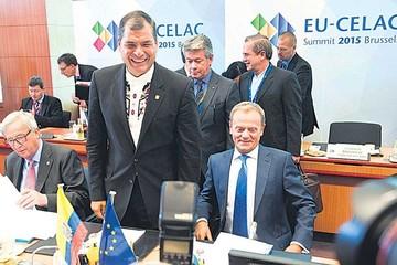 Cumbre UE-Celac cierra sin críticas a Venezuela