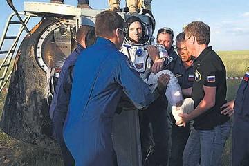 Regresa a Tierra la misión espacial que viajó a la EEI
