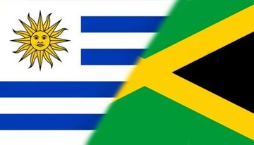 Uruguay y Jamaica se enfrentan por primera vez