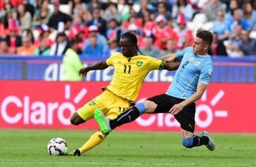 Uruguay consigue una victoria esforzada ante Jamaica