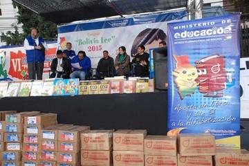 Bolivia Lee: Recolectan 70.000 libros en el país