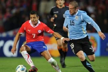 Chile-Uruguay, primer enfrentamiento definido de cuartos de final