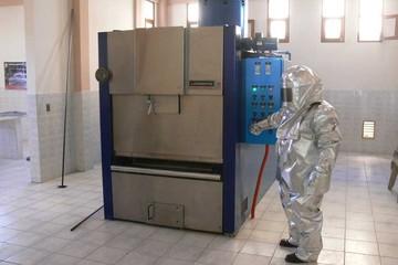 Mensualmente se creman unos 30 restos humanos