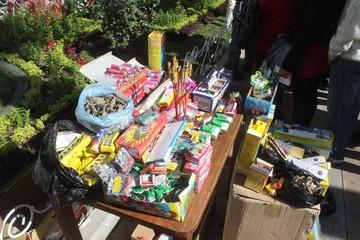 Anuncian multas a vendedores de fuegos artificiales en San Juan