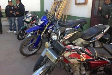 Motocicletas detenidas sin placa no son reclamadas