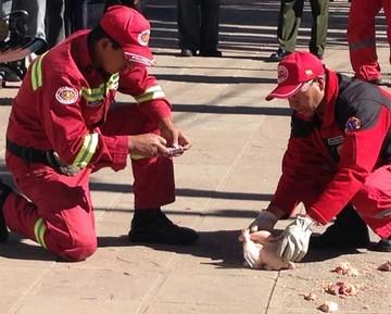Despliegan operativo para evitar fogatas en San Juan