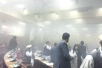 Talibanes atacan el parlamento afgano