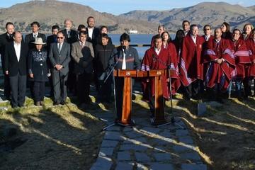 Sucre será sede del próximo gabinete binacional Bolivia-Perú
