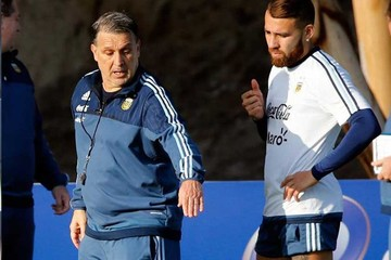 Argentina refuerza táctica