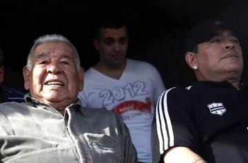 Muere el padre de Diego Armando Maradona a los 87 años