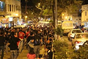 El Convite Universitario congestionó las calles