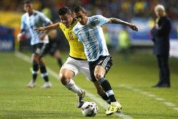 Argentina domina el partido, pero no puede romper el cero ante Colombia