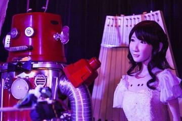 Por primera vez se casaron dos robots
