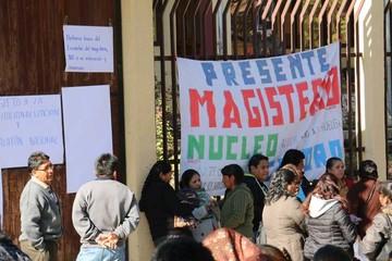 Magisterio rural advierte con una huelga indefinida