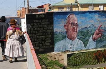 Papa Francisco comienza su visita por Sudamérica