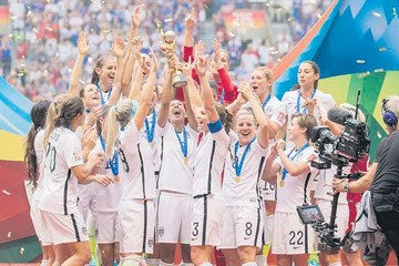 Venganza yanki en el fútbol femenino