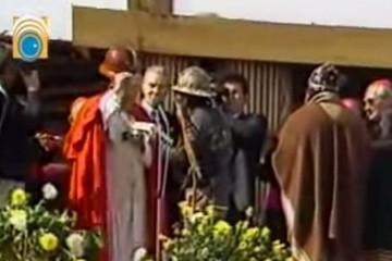 Emocionante eucaristía en Oruro de Juan Pablo II dio paso a la fiesta de la juventud en Cochabamba