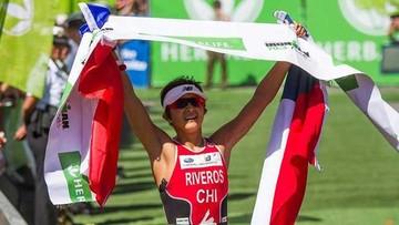 Chilena gana en triatlón