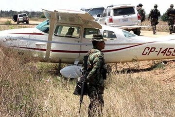 Felcn secuestra 24 avionetas en 6 meses