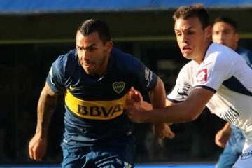 Tevez regresa a Boca y el equipo se sitúa líder