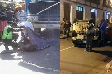 Anciana muere atropellada por conductor imprudente