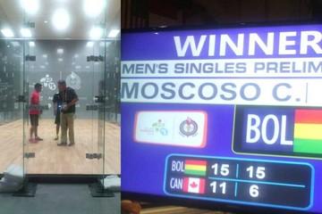 Bolivia avanza en el raquet Panamericano
