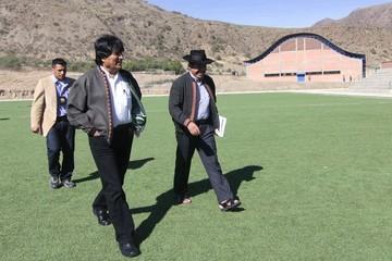 Presidente suspende reuniones en Sucre para atender conflicto de Comcipo