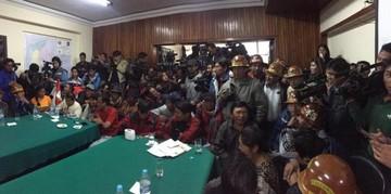 Dirigentes de Comcipo ratifican que no negociarán si no liberan a todos los detenidos