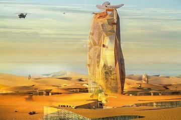 ¡Un rascacielos en el Sahara!