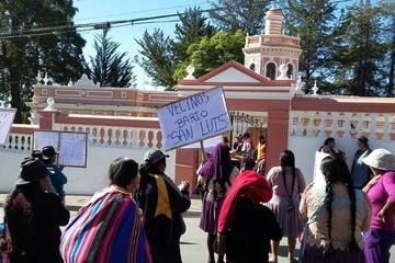 Sucre: Vecinos del barrio San Luis exigen inicio de obras por deslizamientos