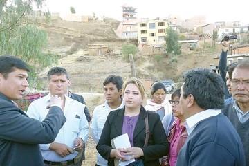 San Luis: Comprometen ejecutar obras en un mes