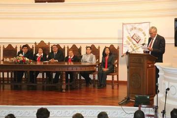 Club del Libro Jaime Mendoza de aniversario