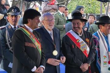 El Presidente estará en Sucre este 6 de agosto