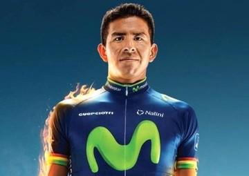 """""""Volcán"""" Soliz será jefe de filas del Movistar en la Vuelta a Colombia"""