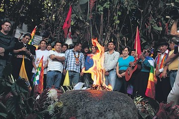 Indígenas ecuatorianos inician marcha a Quito