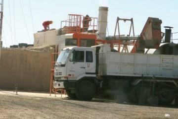 Aumentan producción de la planta asfaltadora