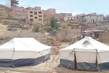 San Luis: Se construyeron casas clandestinamente