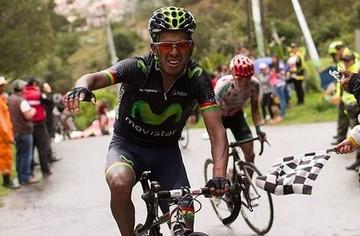 """""""Volcán"""" Soliz abandona la Vuelta a Colombia"""