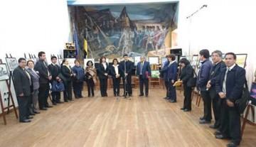 Exposición cierra festejos del colegio Junín
